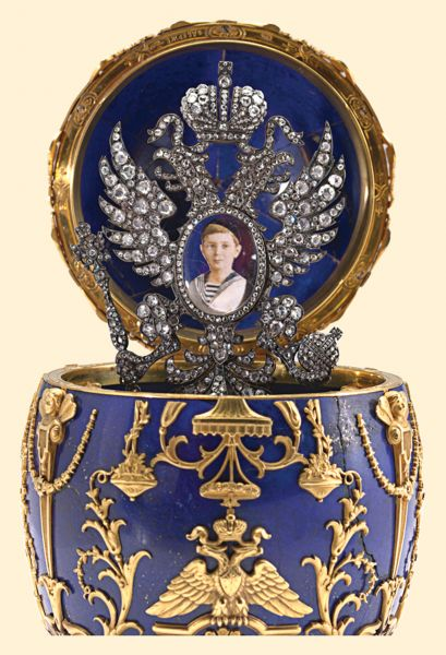 Fabergé, Imperial Tsesarevich Easter Egg, 1912