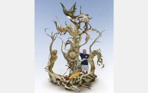 """Paul Baliker's """"Dancing with Mother Nature."""" Photo courtesy of ArtPrize"""