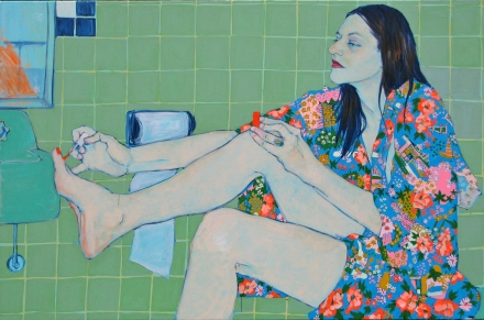 Hope Gangloff, Sara Vanderbeek in her Bath Closet,  2010