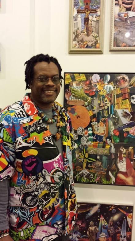 Henry Brown, Sanctuary Folk Art Gallery, March 17, 2015