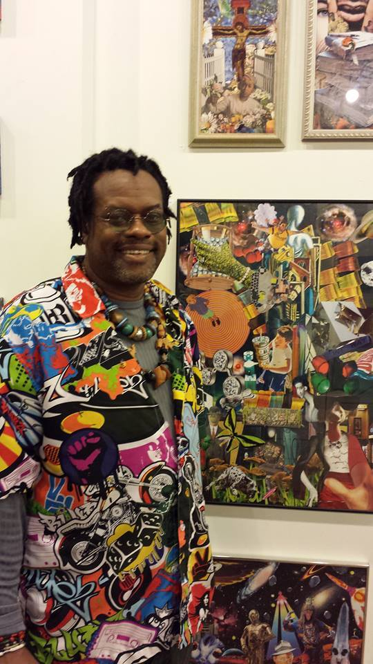 Henry Brown, Sanctuary Folk Art Gallery, March 17, 2015