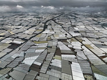 Ed Burtynsky, Greenhouses Almira Peninsula, Spain (2010)