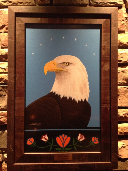 Mgeshwash - Bald Eagle by David Shannaquet