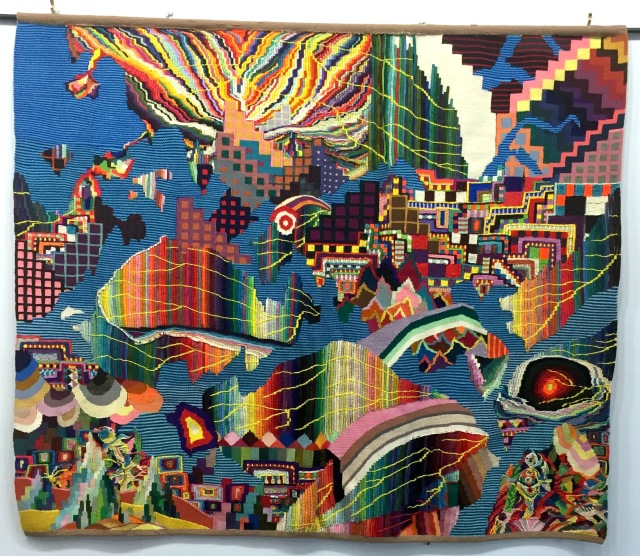 Meltdown, tapestry by David Johnson and Geary Jones