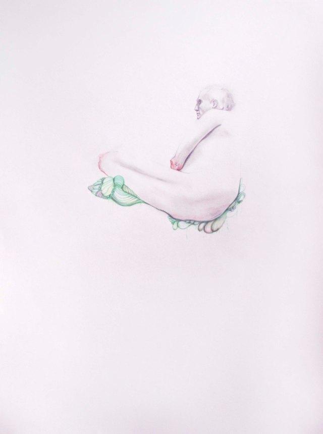 Margaret Olson, Figure Study, 2014