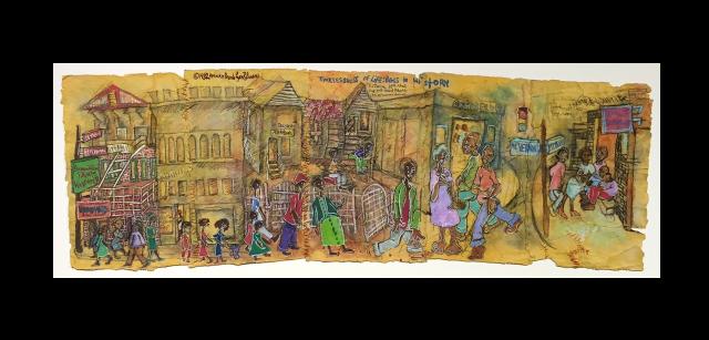 Aminah Robinson Timelessness of Life 1982