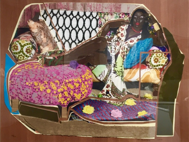 Mickalene Thomas Youre Gonna Give Me the Love I Need 2010