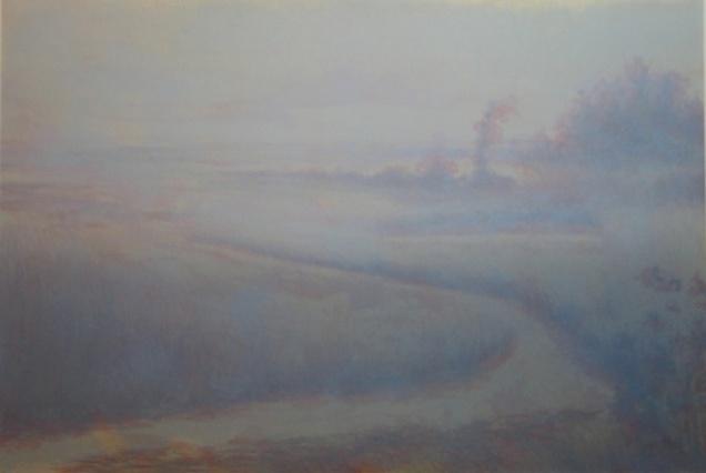 Fog III, Lithograph