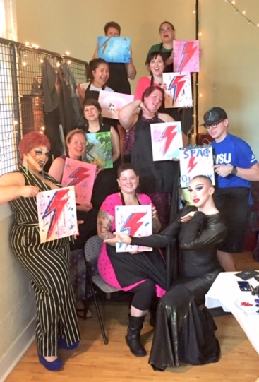 Drag and Paint group photo