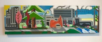 Calder Plaza, Steve Leary