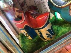 Custom wooden shoe, Steve Leary